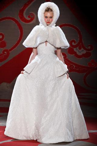 Ulyana Sergeenko. Alta Costura invierno 2012/2013