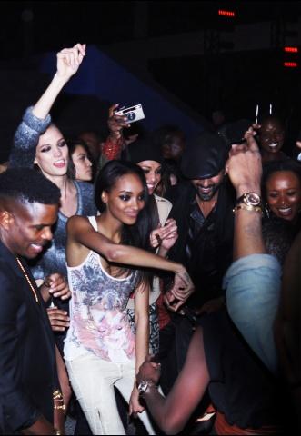Fiesta porterior al desfile de Kanye West