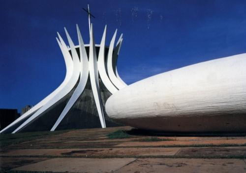 Catedral de Brasilia. Oscar Niemeyer