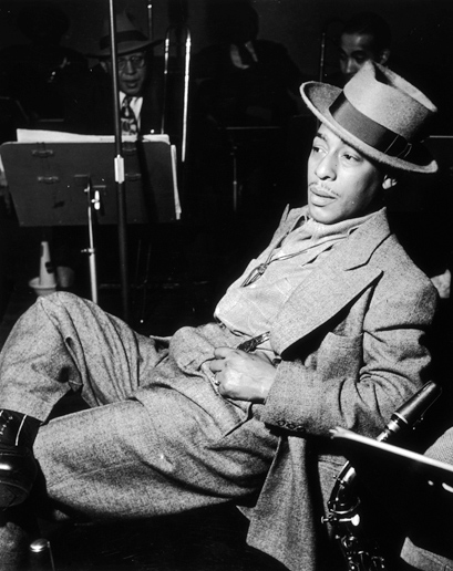 Johnny Hodges. Saxofonista de la banda de Duke Ellington