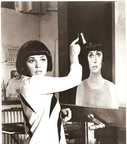"""Jeanne Moreau en """"La Novia Vestida de Negro"""""""