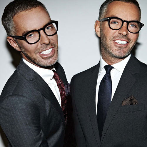 Dean & Dan Caten. Dsquared2