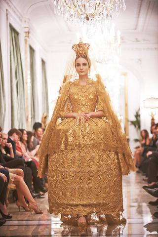 Dolce & Gabbana. Alta Costura primavera/verano 2013