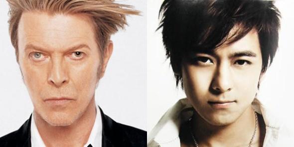 David Bowie. Jimy Lin