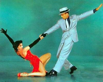 Cyd Charisse y Fred Astaire en The Band Wagon, 1953