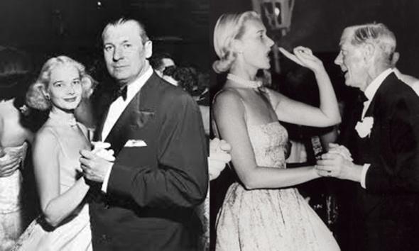C.Z. Guest baila con su marido y con el duque de Windsor