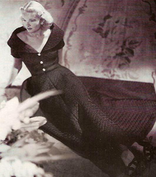 CZ fotografiada por Platt Lynes en 1947