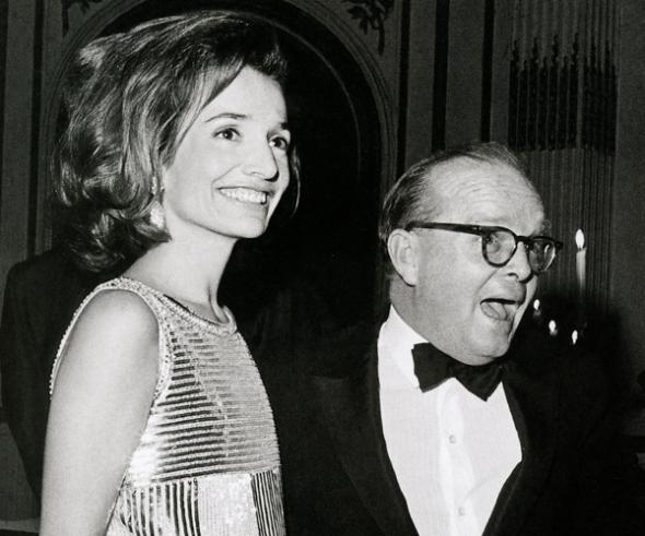 Lee Radziwill y Truman Capote