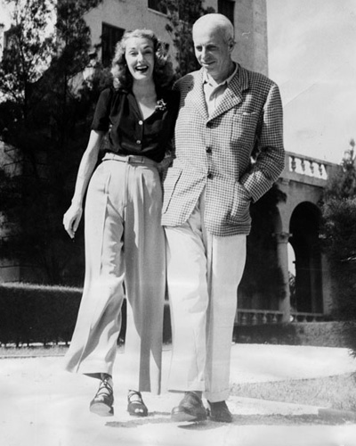 Slim Keith y Howard Hawks