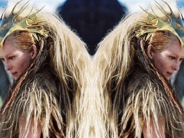 Tilda Swinton en Las Crónicas de Narnia