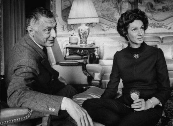 Gianni y Marella Agnelli en los años sesenta