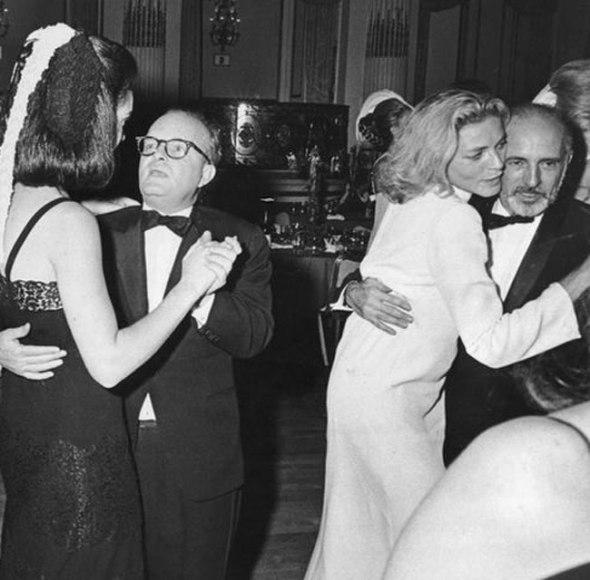 Lauren Bacall bailando con Jerome Robbins