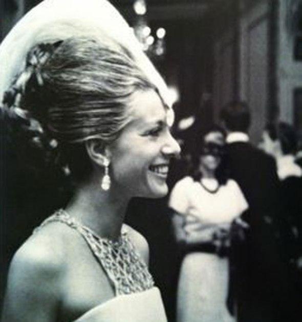 La princesa Luciana Pignatelli en la fiesta