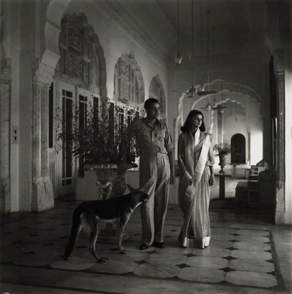 El Maharajá y la Maharaní de Jaipur en los años sesenta