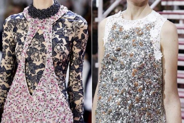 Desfile de Dior Alta Costura primavera/verano 2015