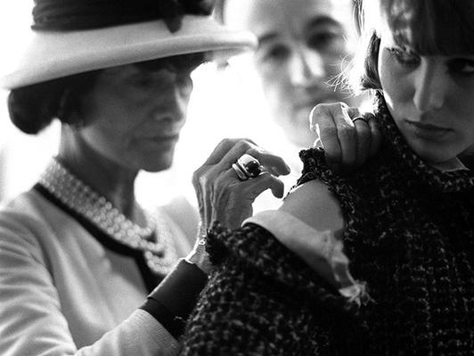 Fotografía de Coco Chanel. Kirkland 1962