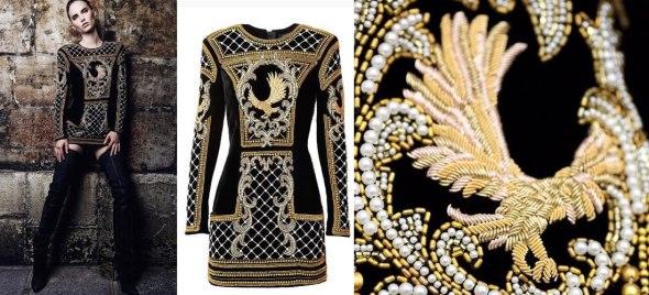 Vestido de Balmain para H&M 500 euros