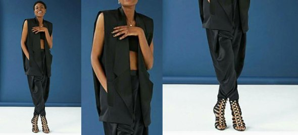 Colección de Balmain para H&M: Chaleco 220 euros, Pantalón 82 euros, Sandalias 165 euros