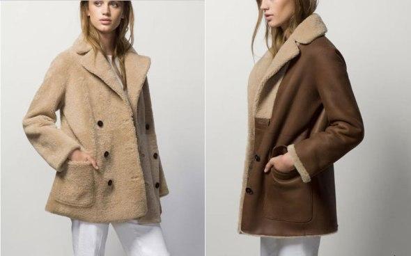 Abrigo reversible de Massimo Dutti 895 euros
